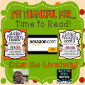 I'm Thankful for…Reading Giveaway!!