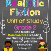 Realistic Fiction Units of Study Posted and on Sale!