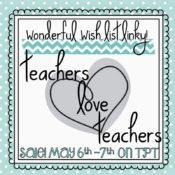 TpT LOVES Teachers Sale and a Fun Linky