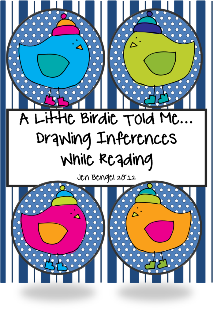 http://www.teacherspayteachers.com/Product/Drawing-Inferences-Printable-bookmarks-and-Worksheet-309250