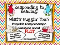http://www.teacherspayteachers.com/Product/Comprehension-Question-Cards-for-Plot-with-CCSS-437652
