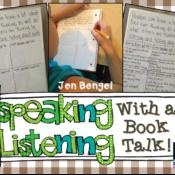 Speaking & Listening Skills With a Book Talk