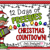 12 Days of Freebies: Day 11 AND Half Off!