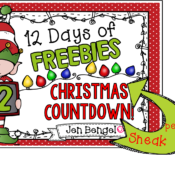Get Ready for 12 Days of FREEBIES and Half Off Deals!