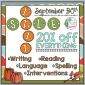 One Day Fall Sale!