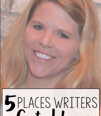 Day Twenty-Two: 5 Places Writers Get Ideas