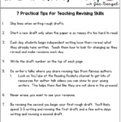 7 Practical Tips for Teaching Revising Skills