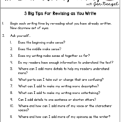 3 BIG Tips for Revising as You Write and FREEBIES!!