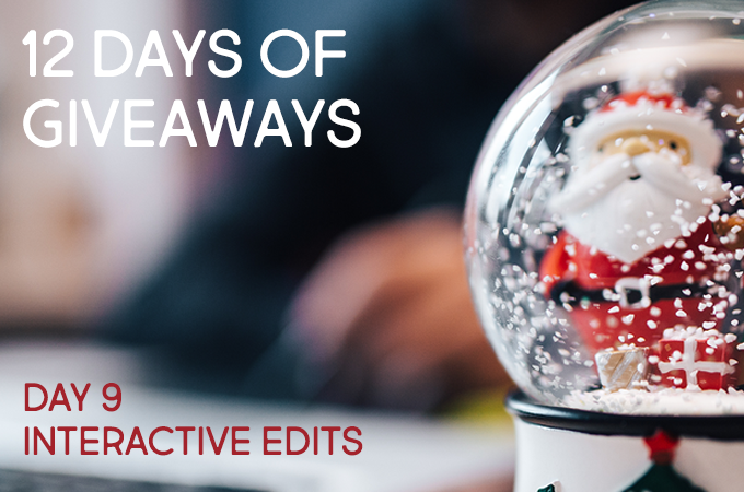 12 Days of Christmas Giveaways: Day Nine