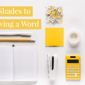 8 Shades to Knowing a Word