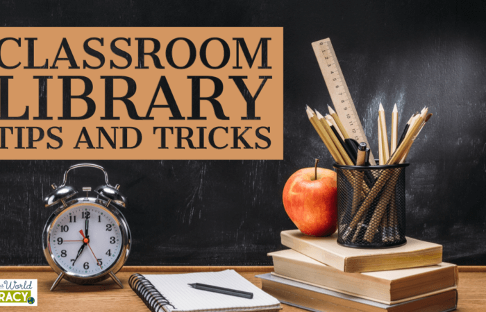 Classroom Library Tips and Tricks